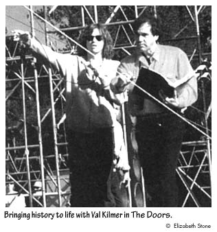 Bringing history to life with Val Kilmer in The Doors.  sc 1 st  Institute of International Studies - UC Berkeley & Interview: Oliver Stone - p. 2 of 9