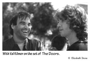 With Val Kilmer on the set of The Doors.  sc 1 st  Institute of International Studies - UC Berkeley & Interview: Oliver Stone - p. 5 of 9