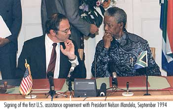 mbeki and mandelas foreign policy Since 1994 us statements regarding a newly democratic south africa, under the leadership of nelson mandela and the african national congress (anc) toward a new foreign policy key recommendations.
