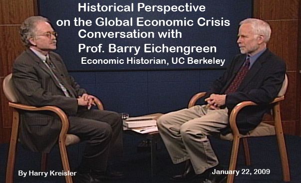 Conversation with Barry Eichengreen (2009), cover page