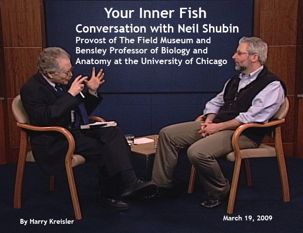 Conversation with neil shubin 2009 cover page for Neil shubin your inner fish